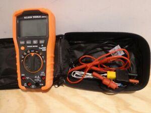 Klein Tools MM700 Digital Multimeter w Case & Accessories