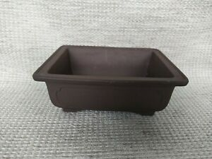 Bonsai Ceramic Brown Pot