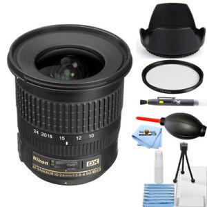 Nikon AF-S DX NIKKOR 10-24mm f/3.5-4.5G ED Lens STARTER BUNDLE BRAND NEW