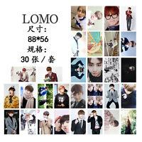 30pcs set Kpop Kim Tae Hyung V Personal Lomo Card Photo Picture Poster