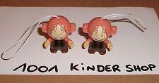 KINDER TR207 TR 207 TWISTHEADS STAR WARS - JAR JAR BINKS - LOT 2 VARIANTES