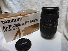 USATO Tamron Af 70-300mm f4-5.6 Obiettivo Macro Di LD in Sony Fit ALFA FIT A a99 ecc.