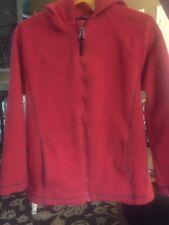Lands End Boys RED size 7 Hoodie Sweatshirt Full Zip