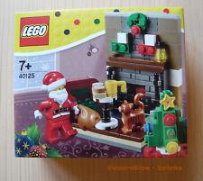 LEGO® (40125) Besuch des Weihnachtsmann inkl.0,00€ Versand Neu & Ovp