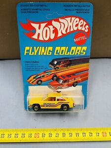 HOT WHEELS FLYING COLORS MATTEL CHEVY CITATION MOC NEW!!!!