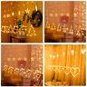 Christmas LED Certain Light Window Hanging Decor Xmas Tree Elk String Lights