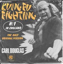 """45 TOURS / 7"""" SINGLE--CARL DOUGLAS--KUNG FU FIGHTING / GAMBLIN MAN"""