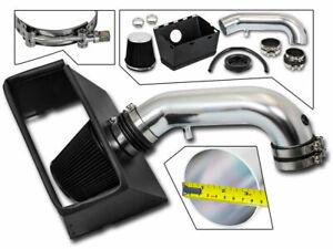 BCP BLACK 09-18 Dodge Ram 1500 2500 3500 5.7 V8 Heat Shield Intake Kit +Filter
