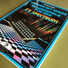LERNEN MIT SPASS - 40 Lernspiele für den ZX Spectrum - Ausgabe von 1984
