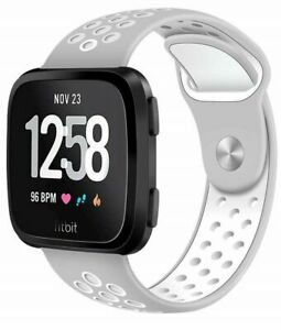 Breathable Sports Soft Watch Band Silicone Strap Bracelet For Fitbit Blaze