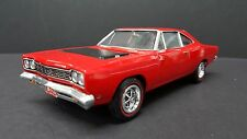 1968 PLYMOUTH ROAD RUNNER RED PRO BUILT 1/25TH