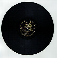 78T BOURVIL Disque Phonographe LA RUMBA DU PINCEAU -..L'PISTON - PATHE 2455 RARE