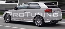 AUDI A3 8P 03-12 Sportback 3 Door S3 STYLE TAILGATE REAR ROOF SPOILER rs3 rs