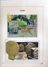 XC50305 Spain 2017 heritage art region culture & nature sheets MNH