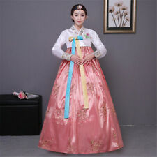 Women Korean Hanbok Traditional Dress Outfit National Oriantal Costumes Stage