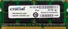 Crucial SO-DIMM Computer Memory (RAM) 1 Module