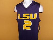 LSU Tigers #2 Basketball Jersey size adult XL nwt FREE SHIP
