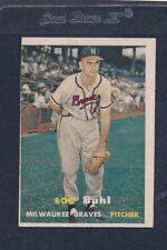1957 Topps #127 Bob Buhl Braves VG/EX 57T127-82116-2