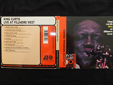 CD CURTIS KING / LIVE AT FILLMORE WEST /