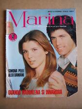 MARINA n°201 1978 FOTOROMANZO edizioni Lancio  [G576]*