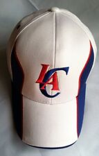 Authentic NBA  Los Angeles Clippers Strictured Cut And Sew  Hat- White