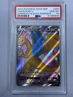 Pokemon Champion's Path ETB Promo Charizard V Full Art SWSH050 PSA 10 Gem Mint