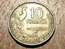 PIECE DE 10 FRANCS GUIRAUD 1953 B (137)