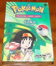 Pokemon Gym Heroes Set Erika Starter Theme Deck Card Box! Factory Sealed!