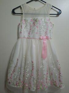 Jona michelle girl  dress  size 7