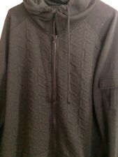 Royal Testimony Hooded Thermal Sweater, Men's ,Large ,Black, New