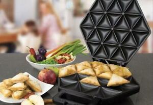 Samosa Maker non stick- 1400 watts Ambiano- makes 24 samosas- Brand New