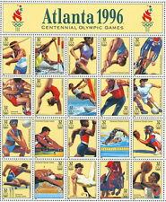 1996 sheet Atlanta Olympic Games Sc #3068