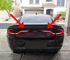 Dodge Charger Taillight Accent Decal Style C 2015+ Hellcat Scat Pack  SRT SXT