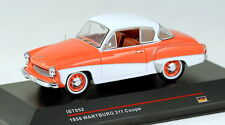 1/43 scale IST Models IST052 Wartburg 311 coupe 1958 orange & cream NIB