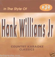Hank Williams Jr Karaoke CD CDG FAMILY TRADITION A Country Boy Can Survive 17 Sg
