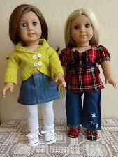 "New-Doll Clothes:Denim Pants/Skirt/Top Sets-Lot 235_fit 18"" Doll such as Ag Doll"
