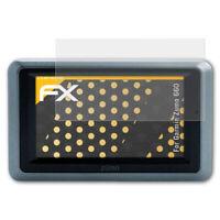 atFoliX 3x Protezione Pellicola dello Schermo per Garmin Zumo 660 opaco&antiurto