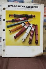 1979-80 SHOCK ABSORBER MASTER CATALOG WEATHERLY 180  (230)