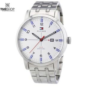 Tommy Hilfiger George Silver Stainless Steel Mens Watch 1710327