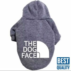 Pet Dog Clothes Puppy Coat Sports Hoodies Warm Sweater Jacket Clothing 2 Legs