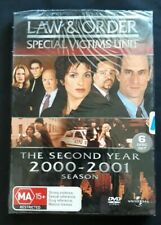 Law & Order SVU Special Victims Unit Season 2 Region 4 R4 6 DVD set New & sealed