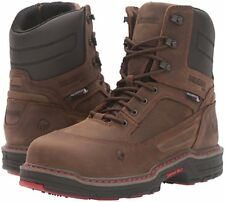 """Wolverine Men's Overman WP CARBONMAX 8"""" EH Insulated Comp Toe Boot Brown Full 12 M"""