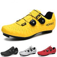 Peloton Shoes Mens SPD Road Bike Shoes Self-locking Cycling Sneakers MTB Shoes