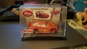 Disney Pixar Cars Pull & Race Lightning McQueen Rocket Scale Die-Cast