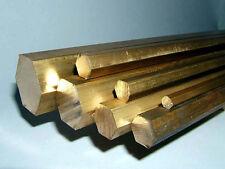 """Brass Hexagonal 3/4"""" (19mm)"""