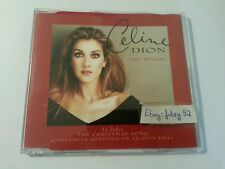CELINE DION The Reason 4 Track Maxi CD UK CD2 665381-5