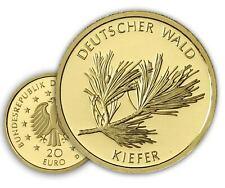 Deutschland 20 Euro 2013 Kiefer Goldmünze Münzzeichen Historia Hamburg Wahl
