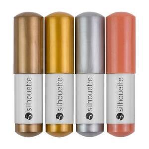 Silhouette Sketch Pens - Metallic Pack x4