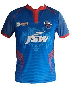 IPL Delhi Capitals 2021 Jersey / Shirt, India DC, Cricket, T20, Daredevils VIVO