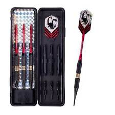 3pcs Professional Soft Tip Darts with 18g Brass Barrel ALU Shaft Flight Dart Set